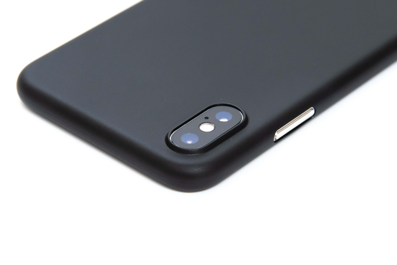 memumi 超薄型 iPhone XS ケース レビュー カメラ部分