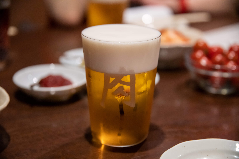 吉祥寺 肉山 ビール
