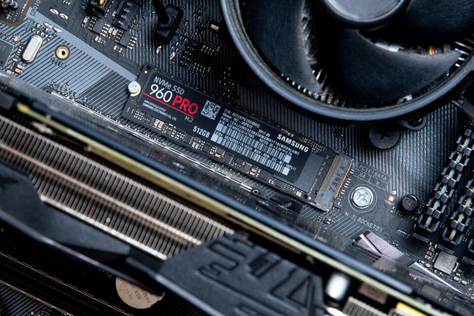 M.2 SSDの発熱問題を解消するためにヒートシンクを導入してみた