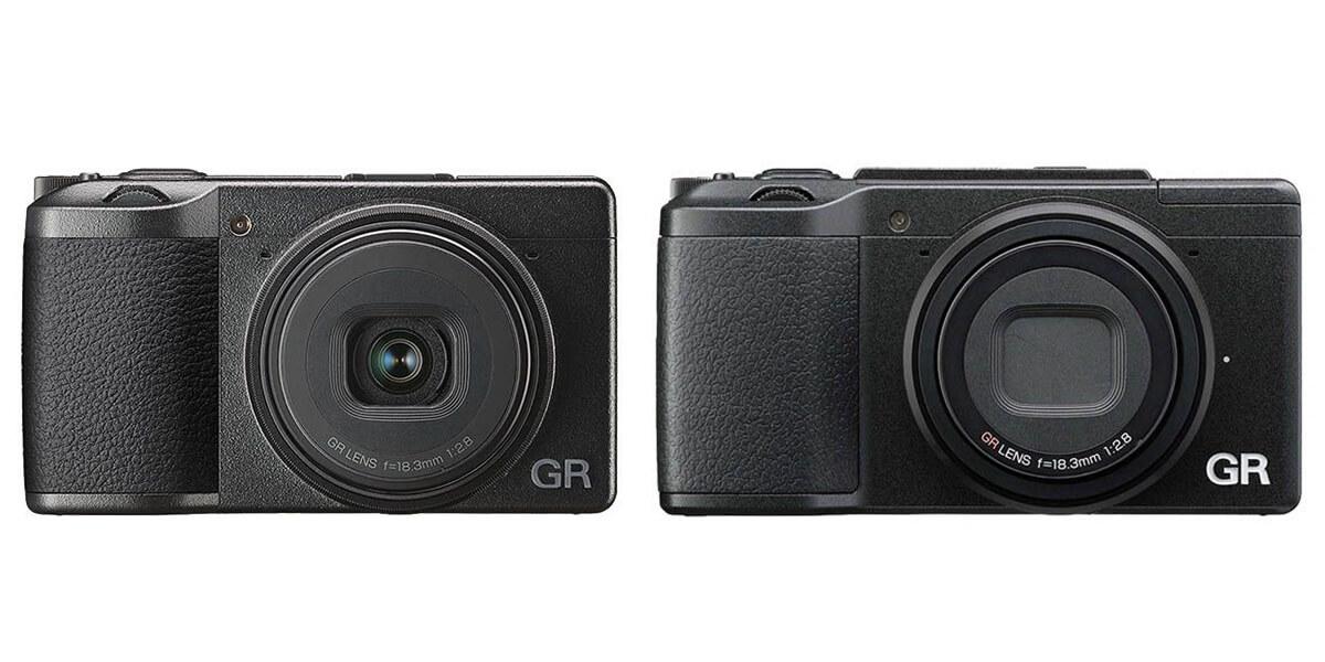 GR III と GR II の見た目比較
