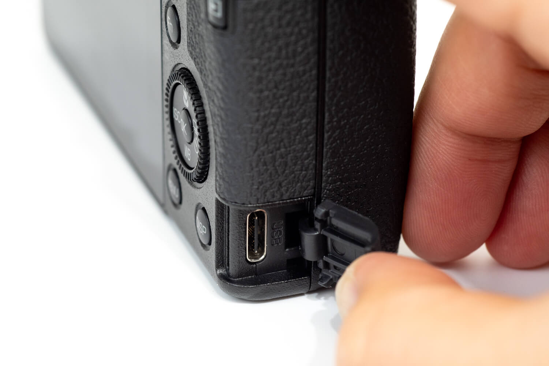 GR III GR3 外観レビュー USB Type-Cポート