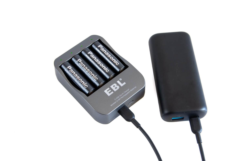 エネループの充電器をUSB充電タイプに変えたら幸せになった