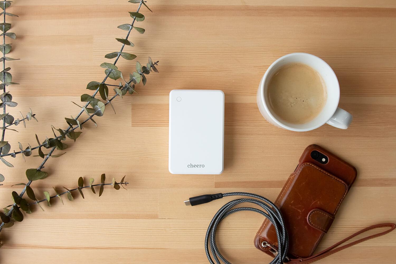 cheero、18W USB PDに対応したモバイルバッテリーを発売
