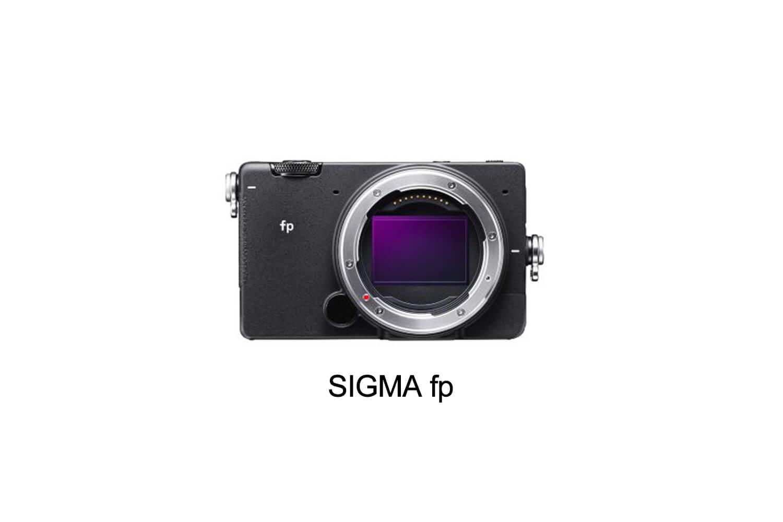 シグマ、フルサイズミラーレス一眼「SIGMA fp」を発表