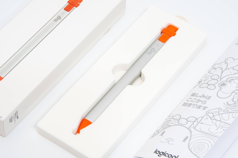 Logicool Crayon(ロジクール クレヨン) 同梱物