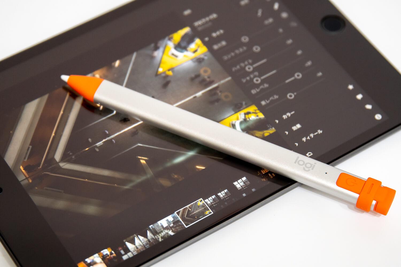 Logicool Crayon(ロジクール クレヨン)を使ってLightroom CCでRAW現像