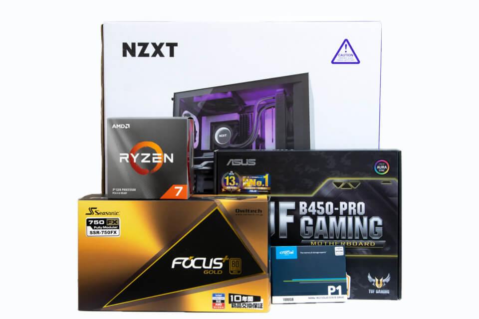 第3世代Ryzen(Zen 2)で組む自作PCのために買ったパーツを紹介します