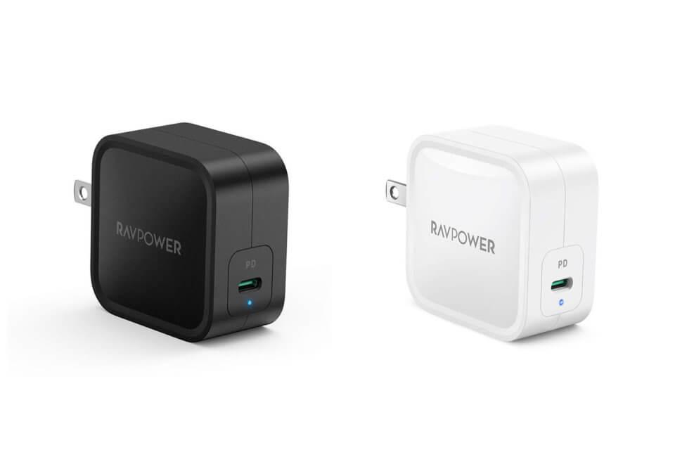 RAVPower、61W USB PDに対応したGaN(窒化ガリウム)採用のUSB-C急速充電器を発売