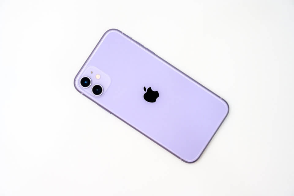 iPhone 11 パープル 開封・外観レビュー