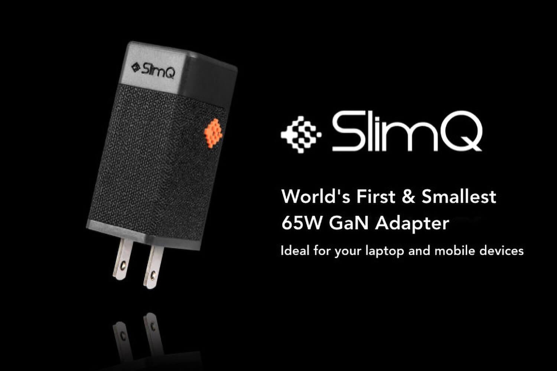 GaN採用で世界最小の65W USB PD充電器「SlimQ」がIndiegogoに登場したので支援した