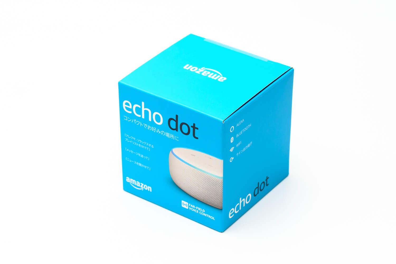 999円で買ったEcho Dotが届いた