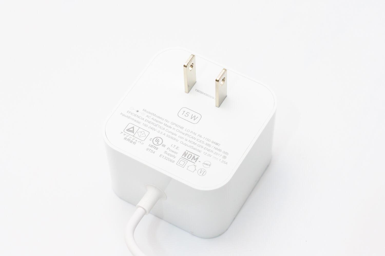 Echo Dotの充電器