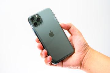 純正だけある作りのよさ!Apple iPhone 11 Proクリアケース レビュー