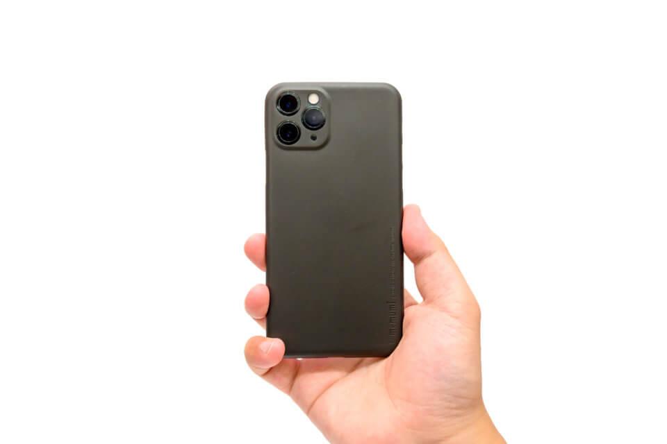 memumiのiPhone 11 Pro用超薄型ケースをレビュー 厚さ0.3mmで着けた感じがしない