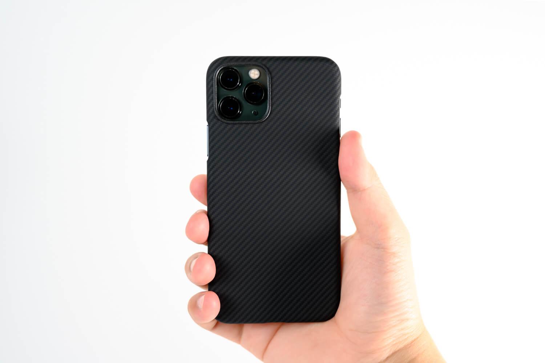 薄くて軽くて耐衝撃!PITAKAのiPhone 11 Pro用極薄アラミドケース「Air Case」レビュー
