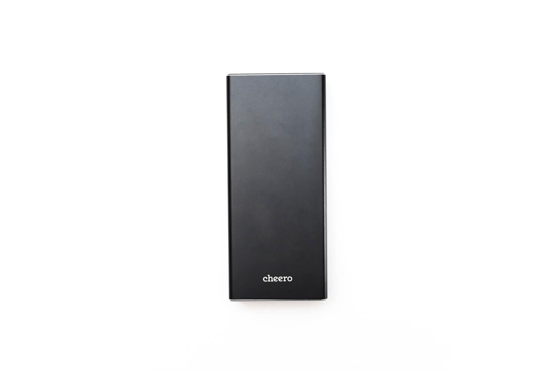 cheero Power Plus 5 Premium 20000mAh の外観