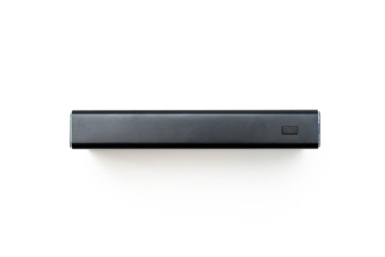 cheero Power Plus 5 Premium 20000mAh 電源ボタン