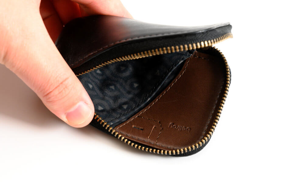 Bellroy(ベルロイ) Card Pocketの紙幣や名刺を収納できるポケット