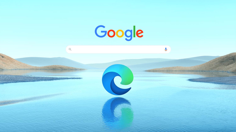 Edgeのアドレスバーでの検索をGoogle検索にする方法