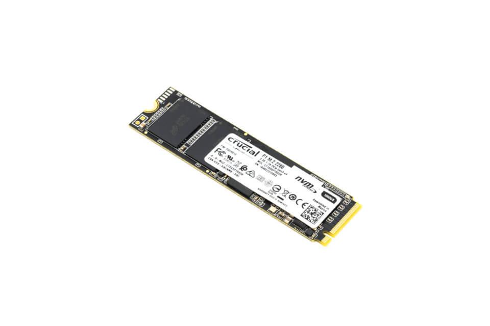 Crucial P1シリーズM.2 SSD