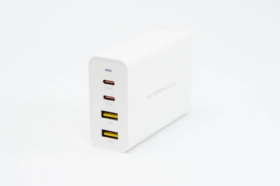 HyperJuice USB充電器レビュー