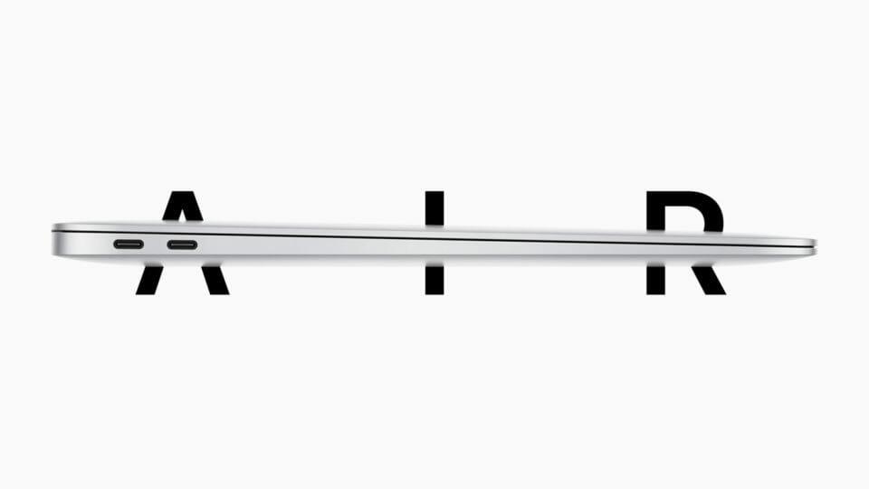 新型MacBook Air登場!CPU進化、ストレージ倍増、シザーキーボード搭載で価格は安く