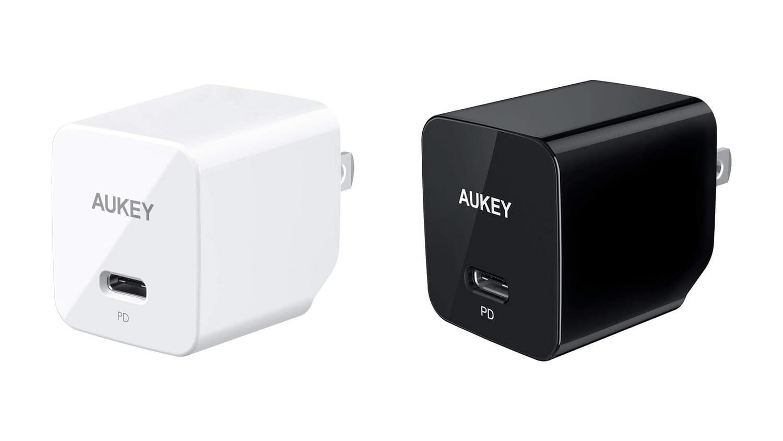 18W USB PD対応のAUKEY製小型USB充電器が1000円オフ