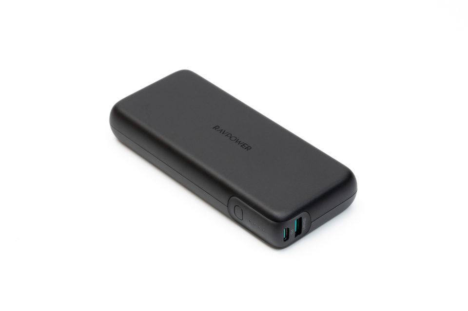 RAVPower RP-PB201 レビュー。60W USB PDに対応した20,000mAhのモバイルバッテリー