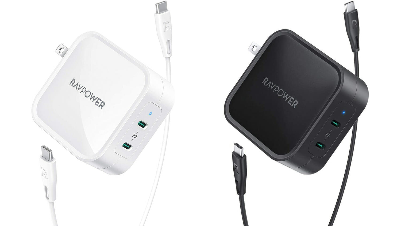 RAVPower、90W USB PDに対応した2ポート仕様のUSB-C急速充電器「RP-PC128」を発売