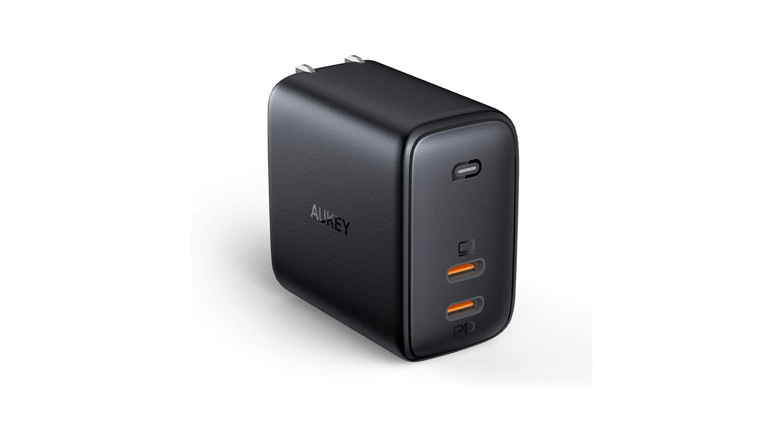 AukeyのUSB-C×2ポートタイプ 65W USB PD充電器「PA-B4」がAmazonで販売開始
