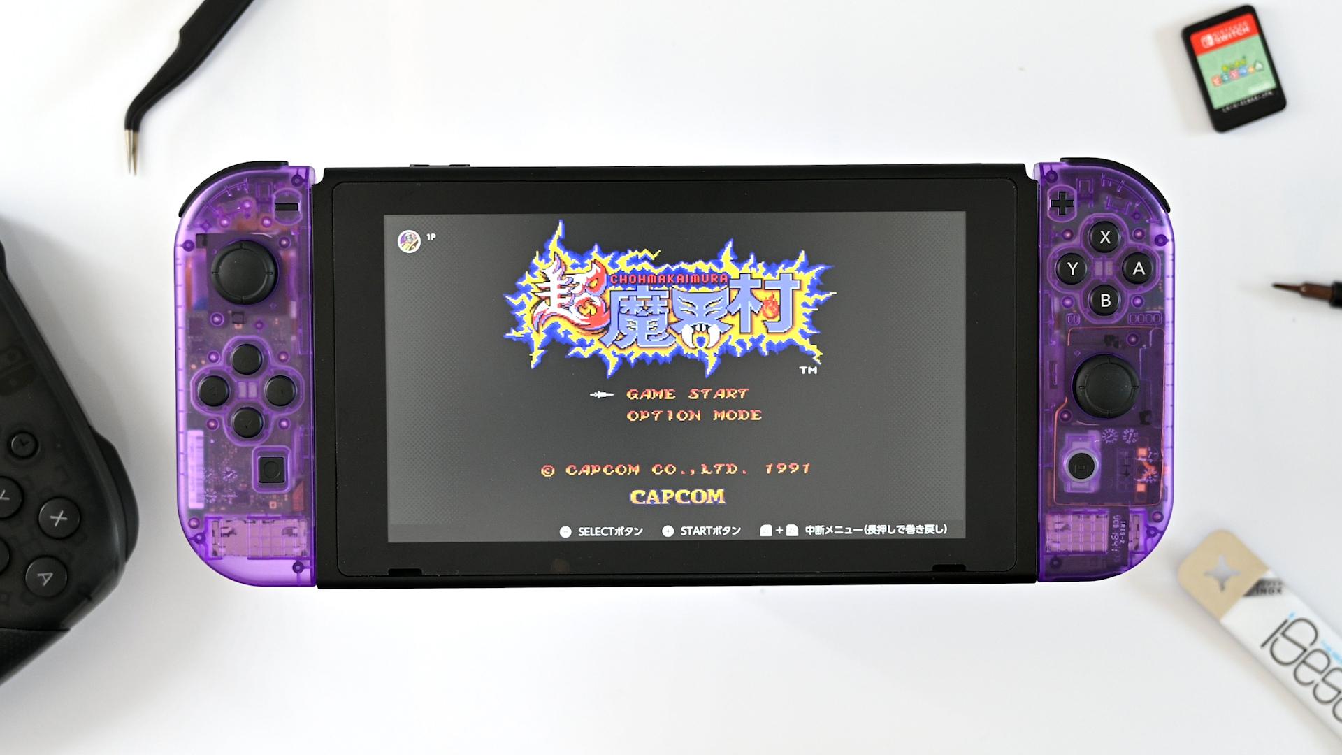 Nintendo SwitchとJoy-Conを分解して外装を交換する手順
