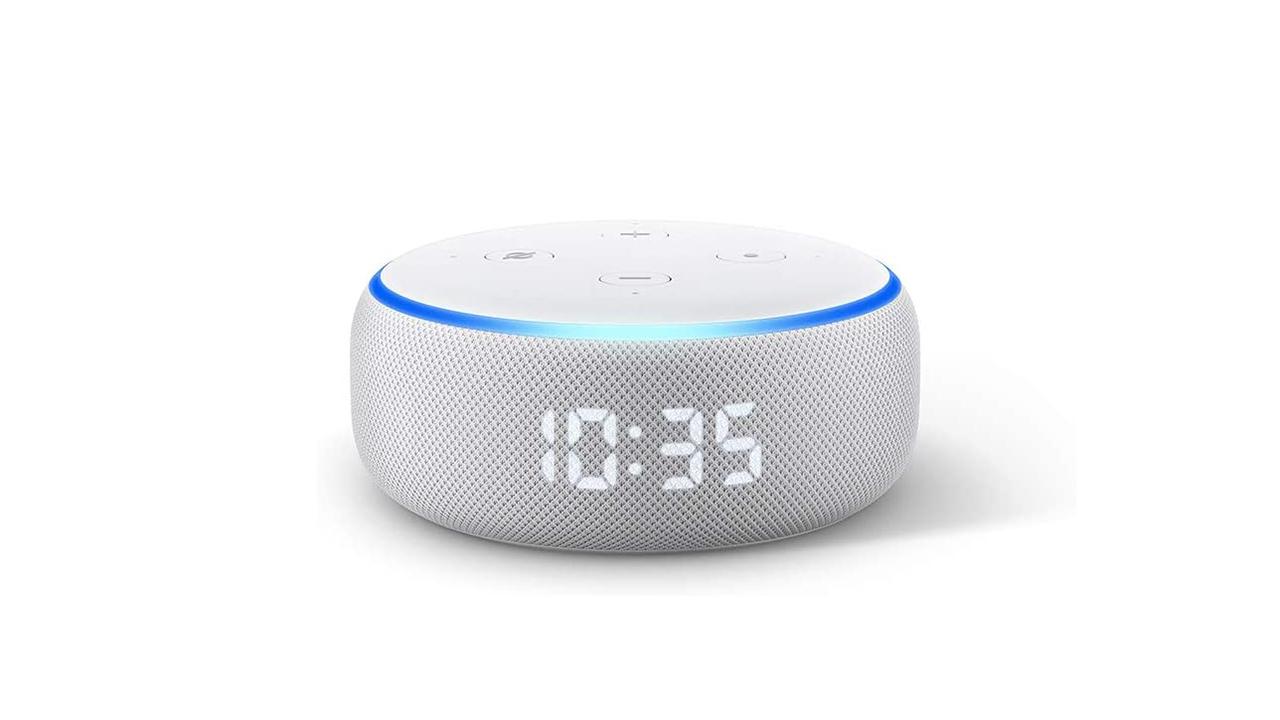 デジタル時計付きのEcho Dot with Clockが3,000円オフの3,980円で販売中