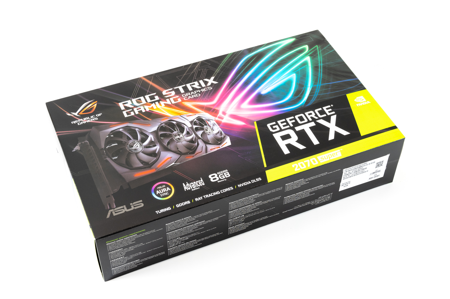 ASUS NVIDIA GEFORCE RTX 2070 SUPER