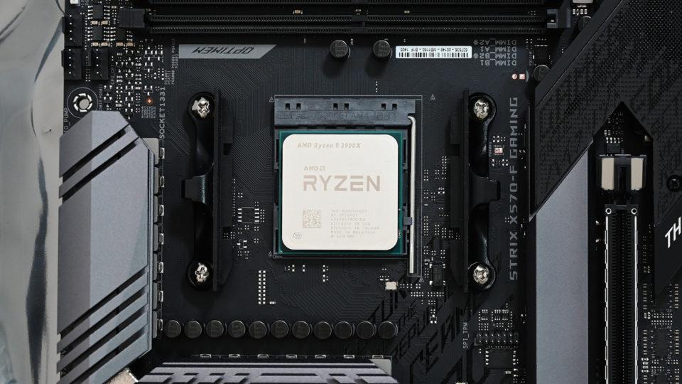 自作PCのCPUを物理コア2桁のRyzen 9 3900Xにアップグレードした