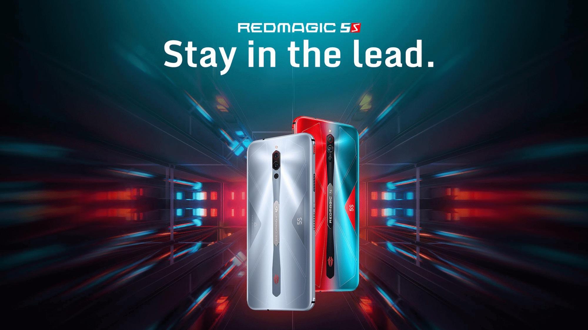 Nubiaの5Gゲーミングスマホ「RedMagic 5S」が日本向けに発売。価格は約6.1万円から【PR】