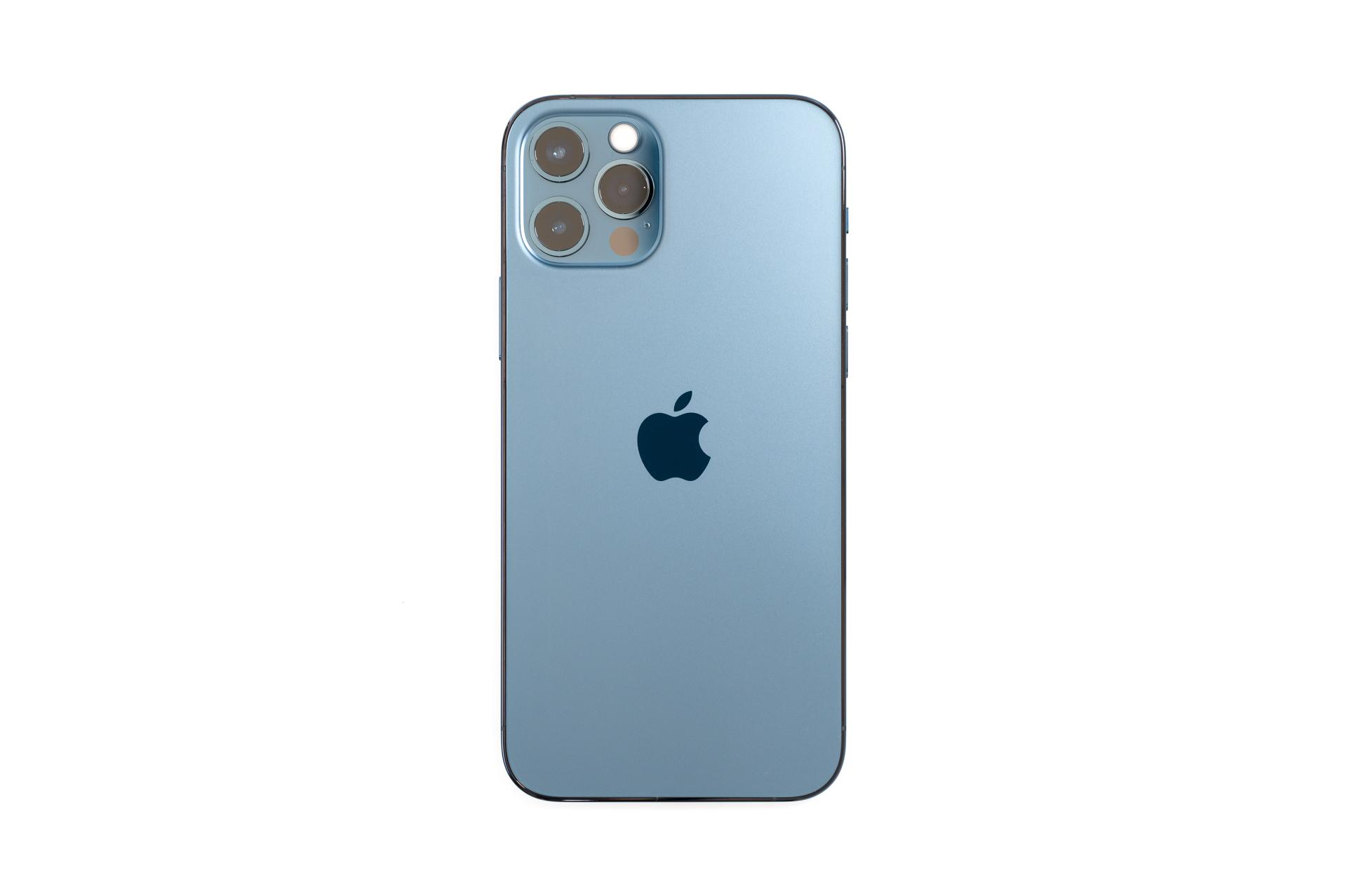 iPhone 12 Pro パシフィックブルー 俯瞰
