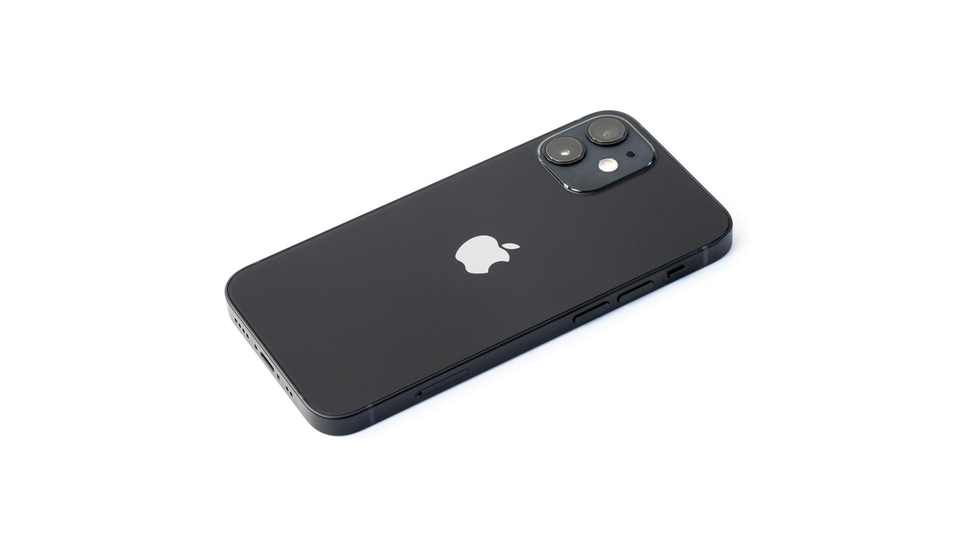 iPhone 12 mini ブラック 外観レビュー