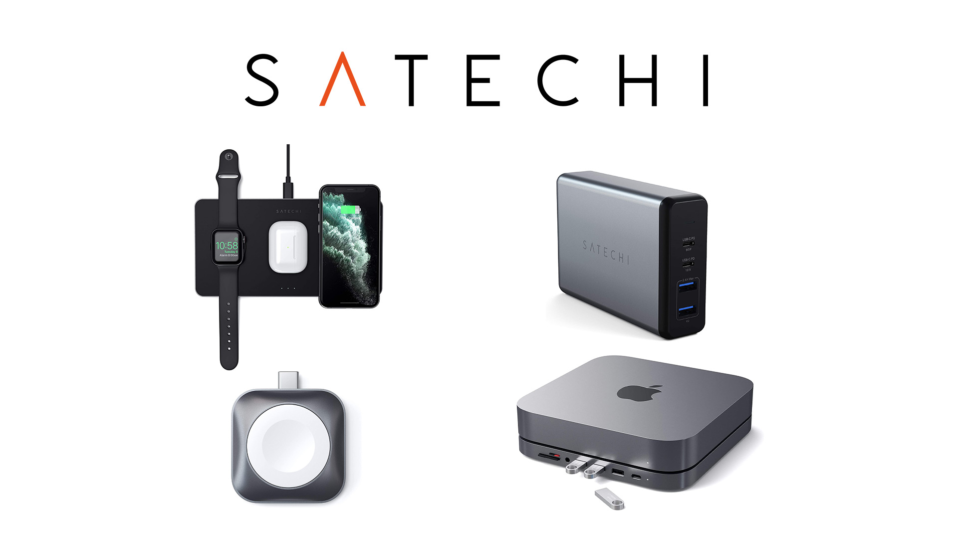 Amazon ブラックフライデー&サイバーマンデーでSatechiの充電器やUSBハブがセール中