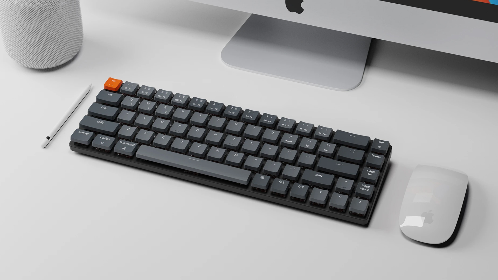 超薄型の65%キーボード「Keychron K7」がKickstarterに登場!64ドルから支援可能
