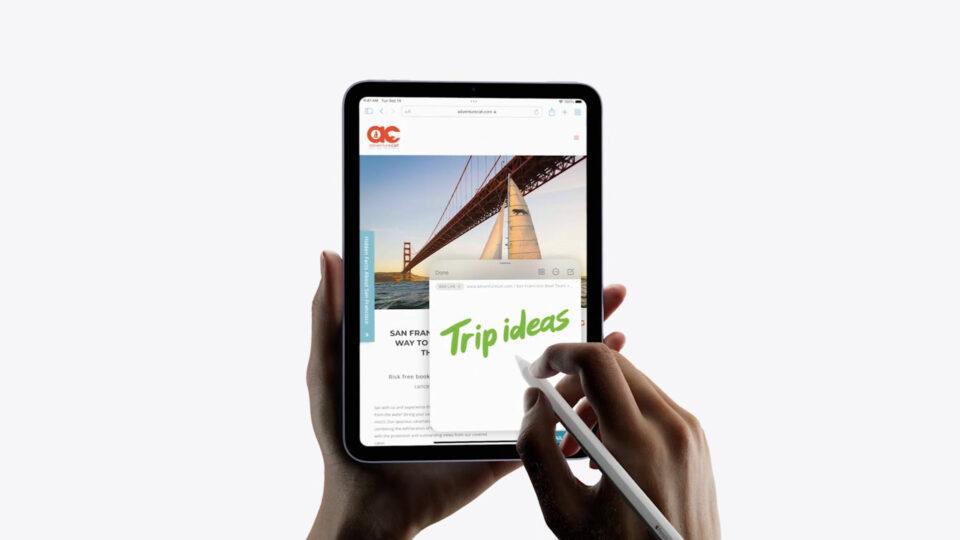Apple、新型iPad miniを発表!全画面デザイン、USB-C、Touch ID搭載で59,800円から