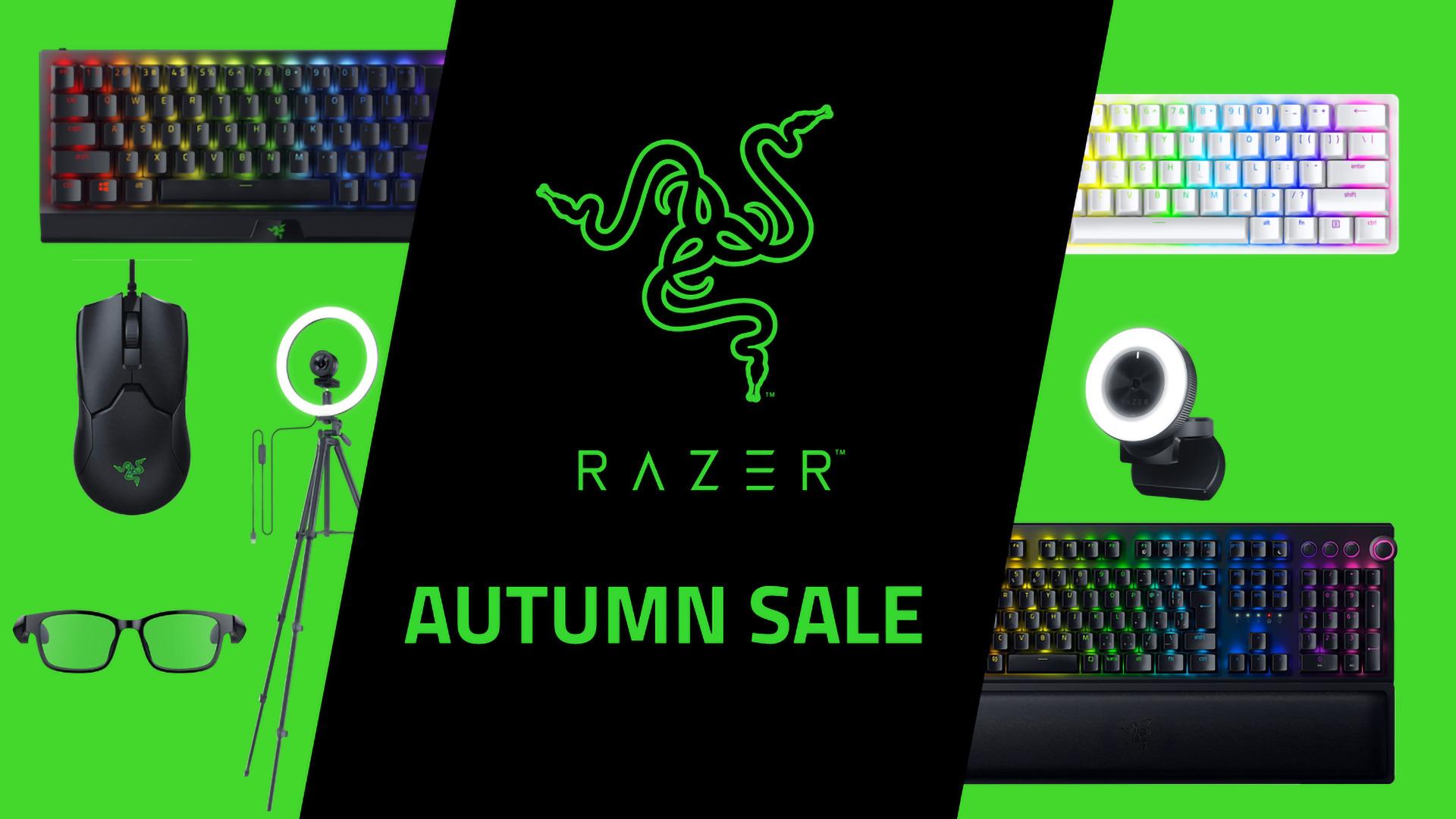 Razerオータムセールで「Viper 8K」や「BlackWidow V3 Mini」「Razer Huntsman Mini」など全24製品が安い!
