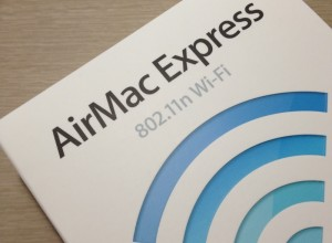 旅先でも快適な無線LAN環境を!AirMac Express
